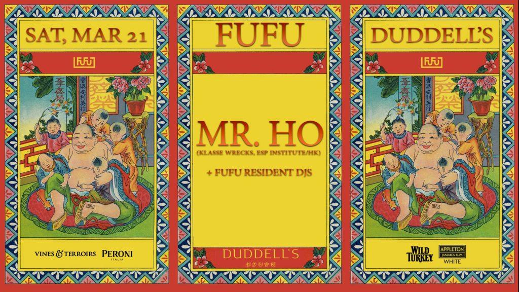 FuFu Present Mr. Ho poster