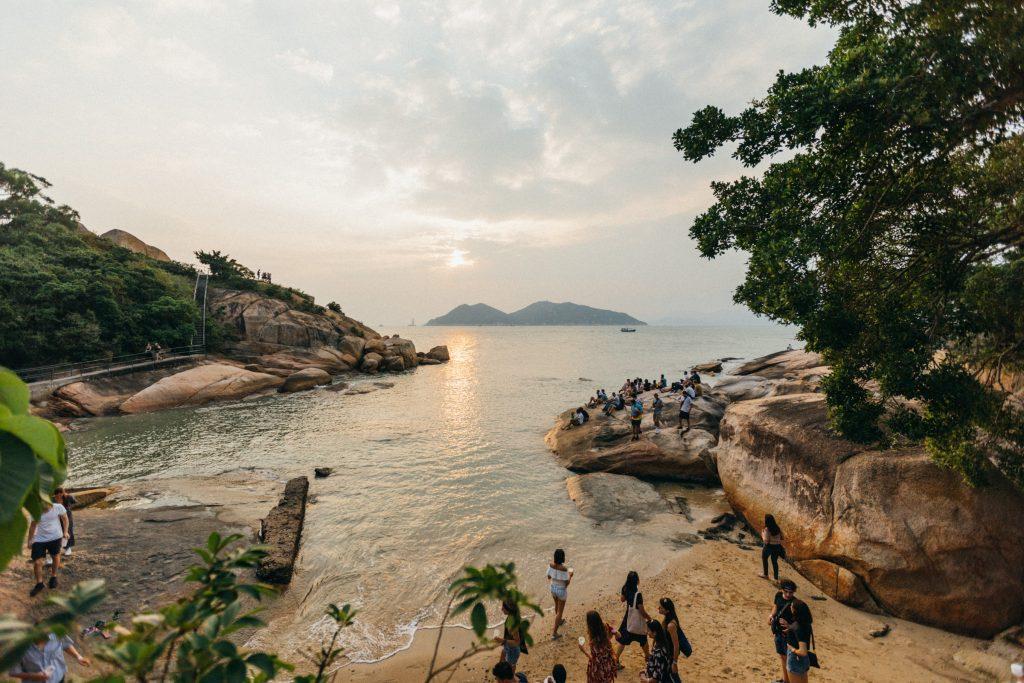 Cheng Chau beach Hong Kong