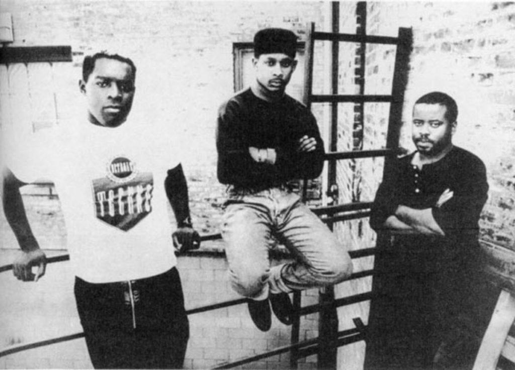 Black artist trio The Belleville Three