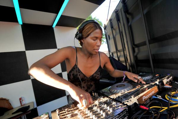 black trans female artist and dj honey dijon