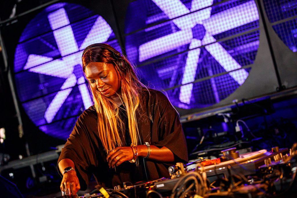 Black female artist and DJ Afrodeutsche
